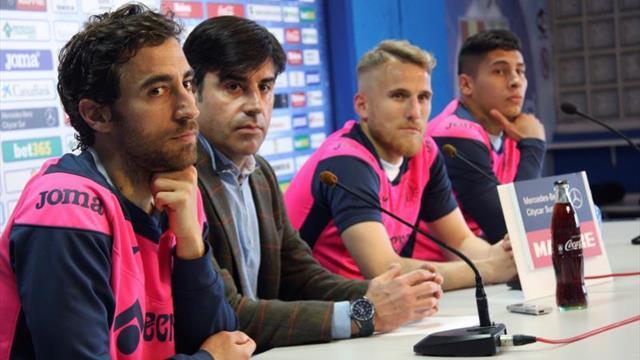 """Samu Saiz: """"Si el equipo fuese abajo nadie diría nada del Getafe"""""""