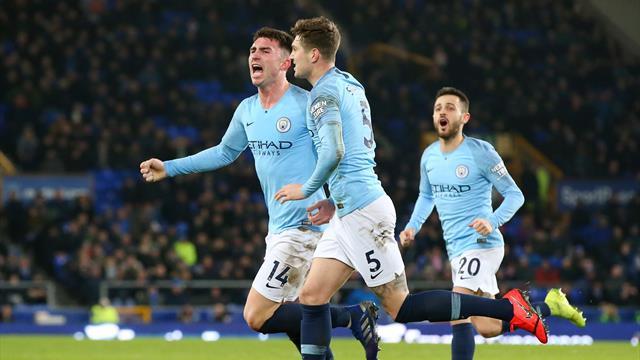 ⚽ El City de Guardiola se coloca líder provisional con su victoria en Goodison Park (0-2)