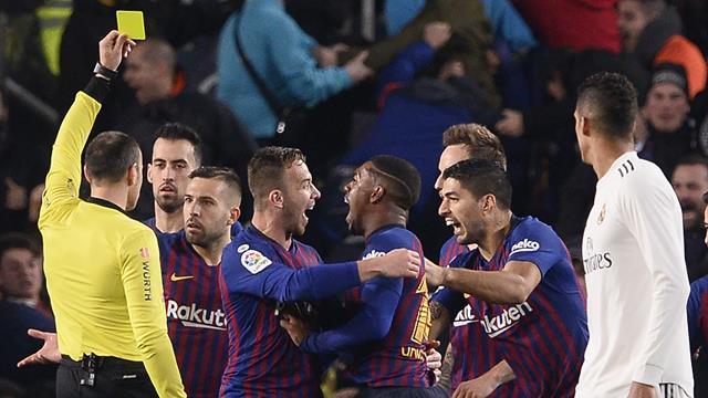 Le pagelle di Barcellona-Real Madrid 1-1: Piqué è un muro, malissimo Marcelo. Vinicius inconcludente