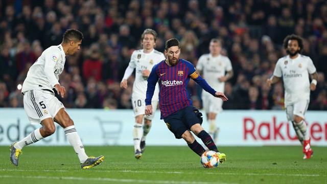 Messi a mezzo servizio e il Barcellona pareggia: 1-1 col Real Madrid nel Clasico di Coppa