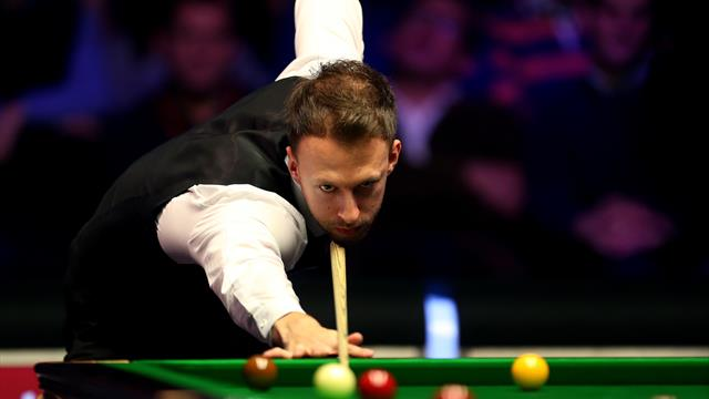 Judd Trump strikes it lucky
