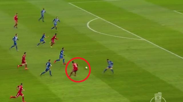 Juventus, guarda che assist di James Rodriguez! Filtrante perfetto per liberare Gnabry