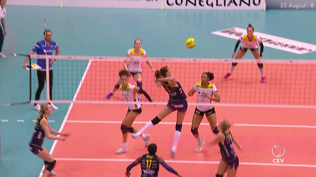 CEV Champions League - Highlights: Imoco Volley Conegliano - SSC Palmberg Schwerin