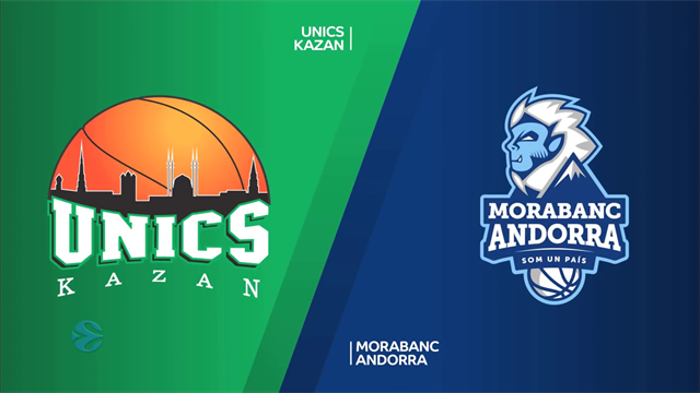Highlights: UNICS Kazan-MoraBanc Andorra 72-53