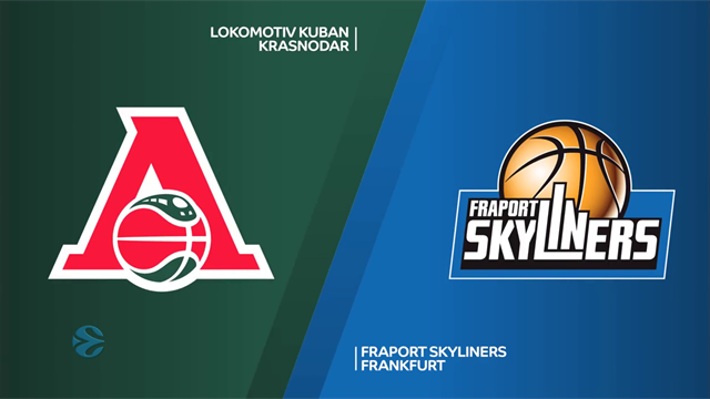 EuroCup highlights : Lokomotiv Kuban Krasnodar v Fraport Skyliners