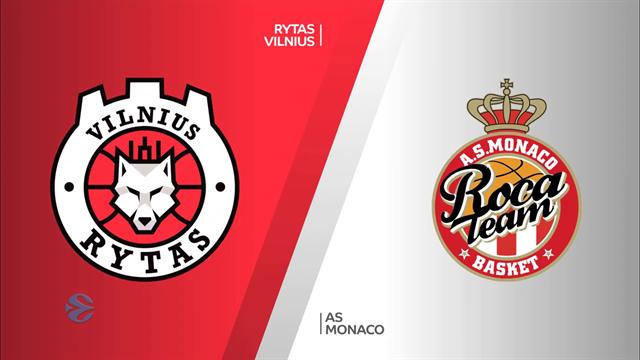 Highlights: Rytas Vilnius-AS Monaco 90-68