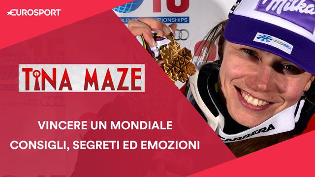 "Tina Maze: ""Vi racconto come si vince un Oro Mondiale"""