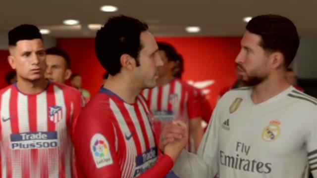 Liga Virtual: Así ha quedado el derbi de Madrid