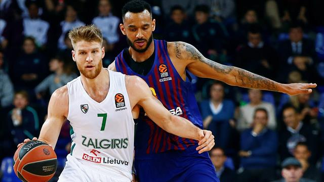Euroliga, Barcelona-Zalgiris: Sufriendo pero quintos (78-72)