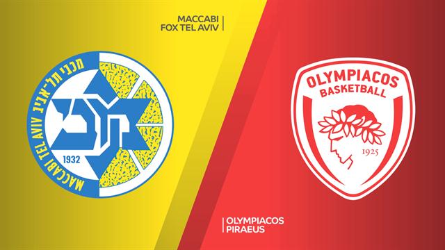 Highlights: Maccabi Fox Tel Aviv-Olympiacos Pireo 65-64