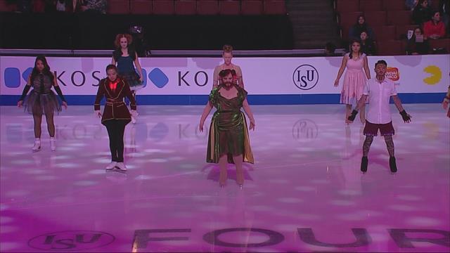 Kinder und Kostüme: Die Eröffnungszeremonie der ISU Four Continents Championships