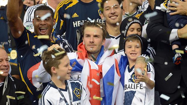 Beckham statue to be unveiled at LA Galaxy