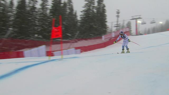 Vonn all smiles after 'training run' in Combined