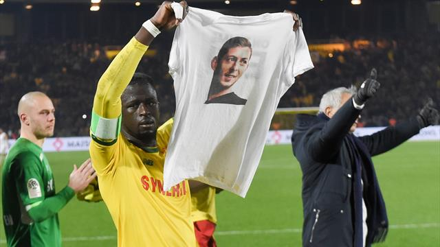 Nantes to retire No 9 shirt in memory of Sala, minute of applause planned in matches