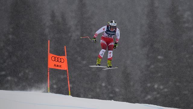 Siebenhofer leads women's combined, Vonn eighth