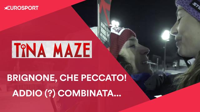 """Tina Maze: """"Federica Brignone meritava una gioia in questa ultima (?) combinata Mondiale"""""""