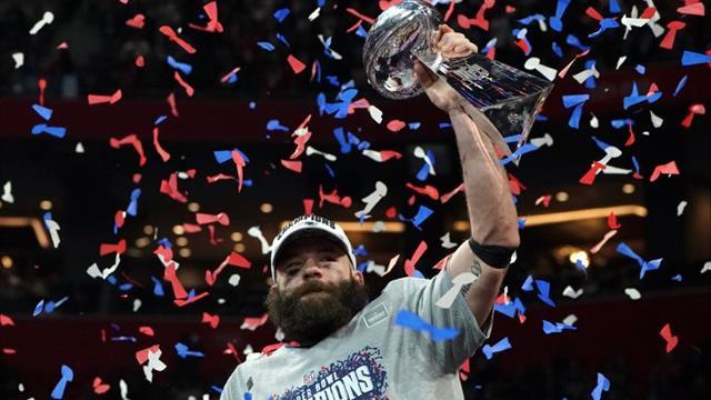 Super-Bowl-Champion Edelman opfert Bart gegen Geld
