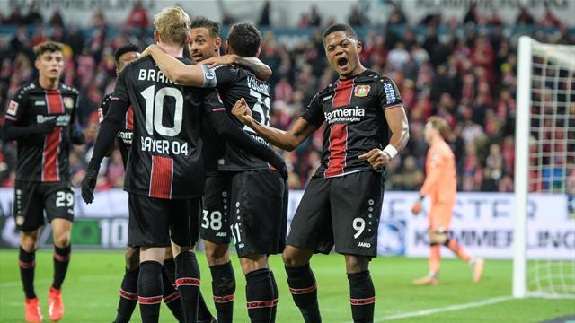 """Brutal gut gemacht"": Furioses Leverkusen überrollt Mainz"