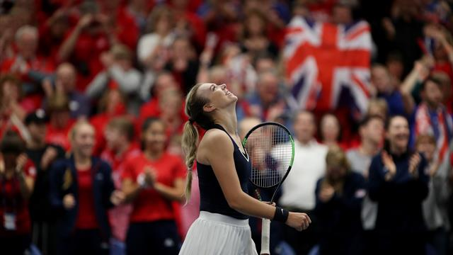 Boulter and Konta revelling in Fed Cup as Great Britain see off Hungary