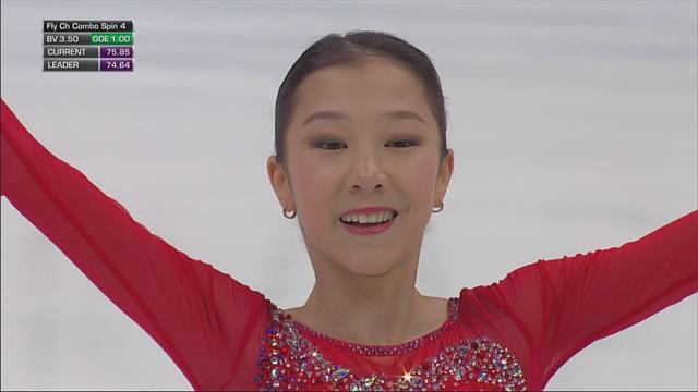 Яркое выступление Турсынбаевой принесло ей серебро четырех континентов