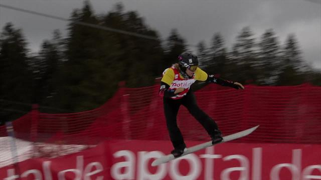 Lindsey Jacobellis takes Feldberg World Cup victory
