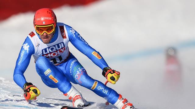 """Christof Innerhofer torna sulla neve 144 giorni dopo l'infortunio: """"Che gioia"""""""