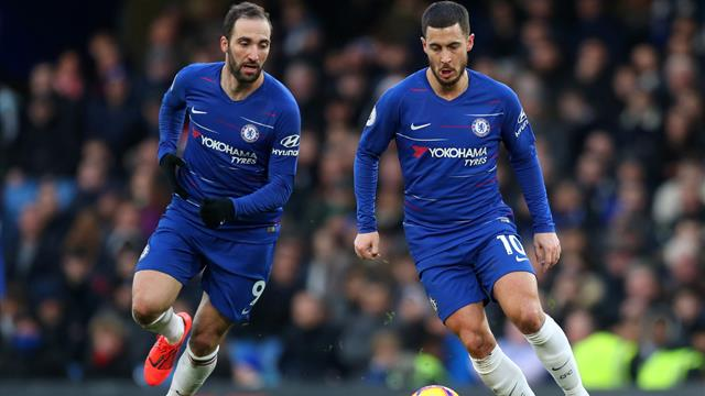 Hazard relishing partnership with Higuain