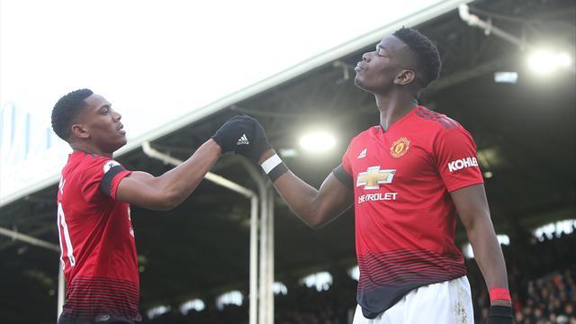 Doppio Pogba più Martial: Manchester United sul velluto al Craven Cottage e 3-0 al Fulham