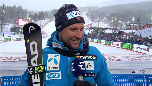 Aksel Lund Svindal: 'It's so emotional, but I'm super happy with my final race'