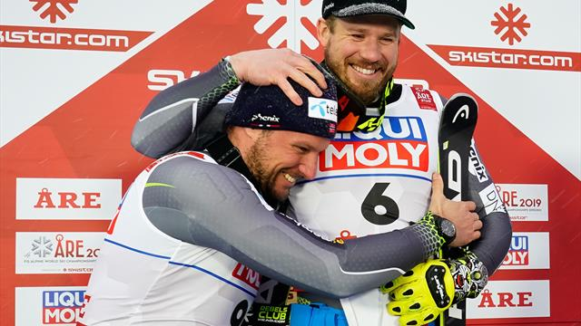 Jansrud denies Svindal fairytale finish with gold run at World Championships