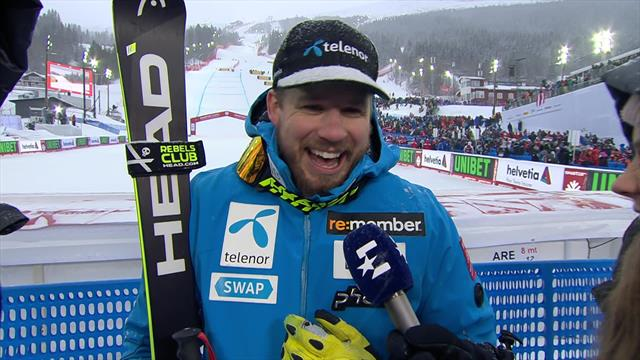 Kjetil Jansrud: 'You ski with your heart'
