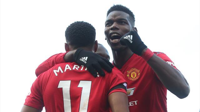United go fourth as Pogba brace extends Solskjaer's remarkable run