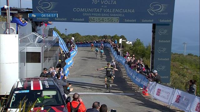 Adam Yates beats Valverde to claim Stage 4 in Vuelta a Valencia