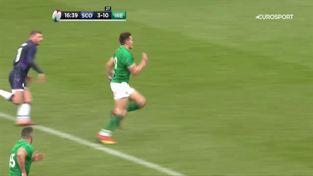 """Meta dell'Irlanda, Munari: """"Io una cosa così l'ho vista fare solo da Mosé"""""""