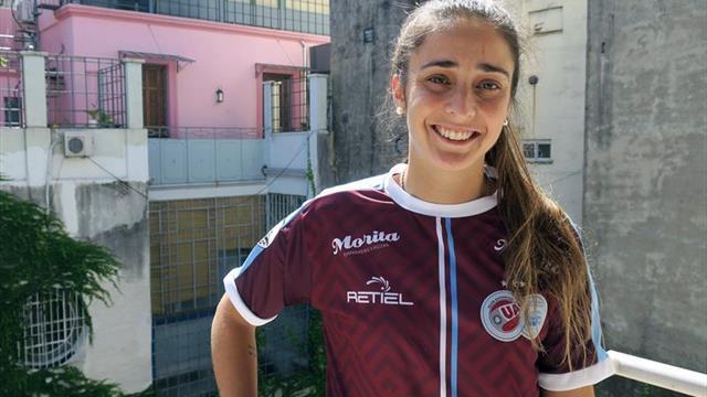 Macarena Sánchez, la futbolista argentina que lucha por la profesionalización