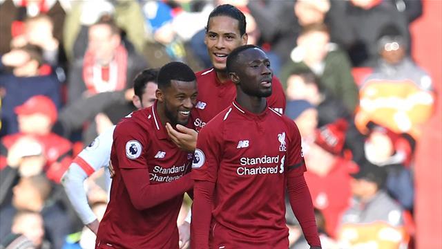 """Il Liverpool scaccia la """"mini-crisi"""": 3-0 al Bournemouth, Reds di nuovo a +3 sul City"""