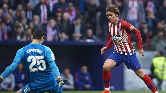 Astucieux et intelligent, Griezmann avait remis l'Atlético à hauteur
