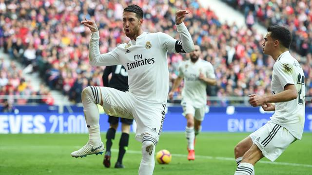 Le pagelle di Atletico Madrid-Real Madrid 1-3: Ramos uomo derby, Morata delude