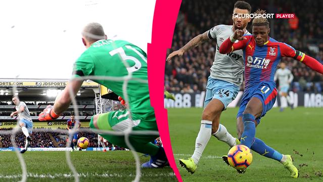 Highlights: Zaha sikrede Palace point i tæt kamp mod West Ham