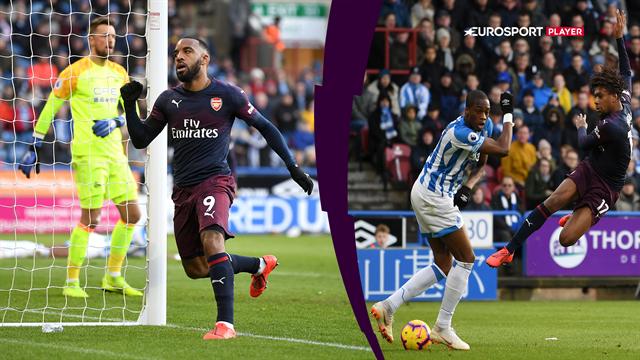 Highlights: To assists af unge Maitland-Niles i Arsenals pligtsejr over Huddersfield