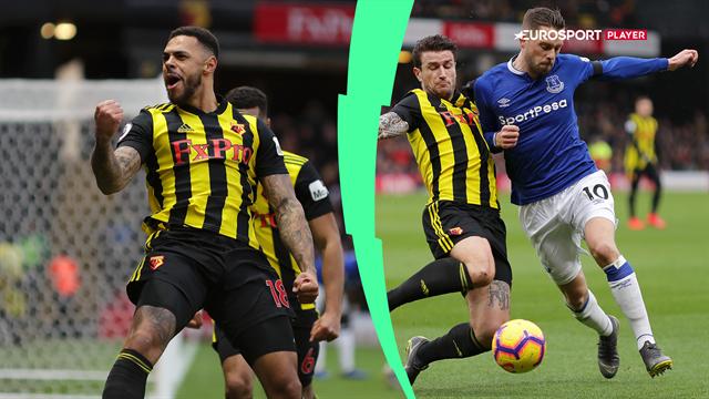 Highlights: Watford tilføjede endnu en Gray nuance til Evertons sløje sæson