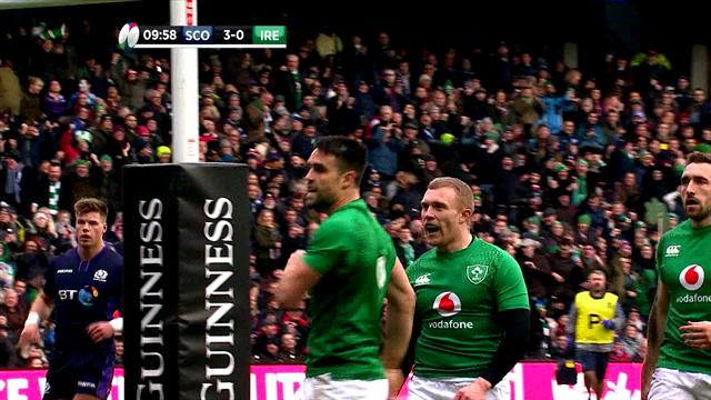 L'Irlanda si riscatta, 22-13 alla Scozia: gli highlights del match