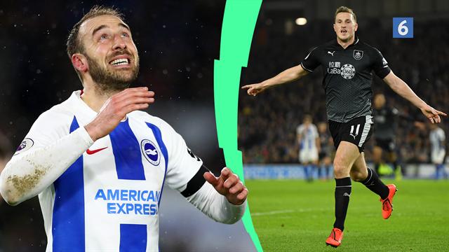 Highlights: Kyniske Chris Wood scorede to gange i Burnleys sejr over Brighton
