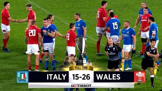 Sei Nazioni 2019: Italia-Galles 15-26, gli highlights della seconda giornata