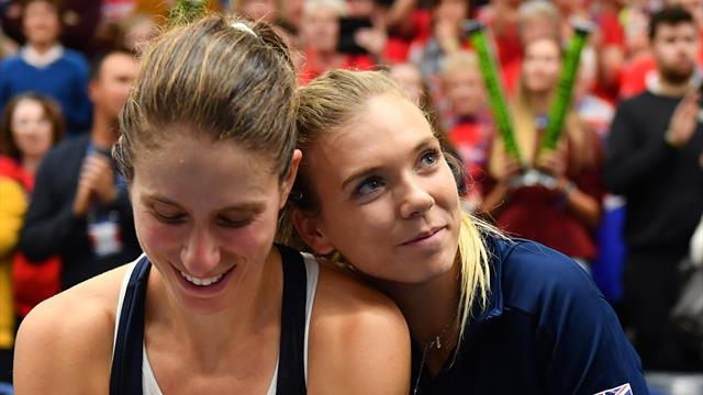 GB plan to persuade Konta into Fed Cup return