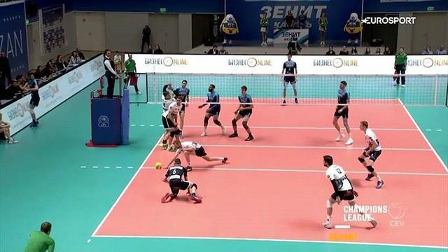 Kazan et Istanbul prolongent leurs impressionnantes séries de victoires