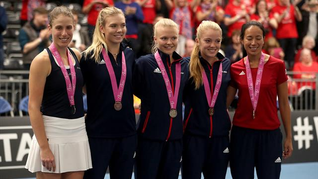 Fed Cup captain Keothavong says GB deserve home tie in World Group II play-off