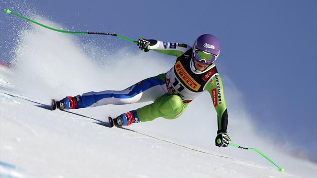 Ilka Stuhec sacrée en descente, du bronze pour Lindsey Vonn