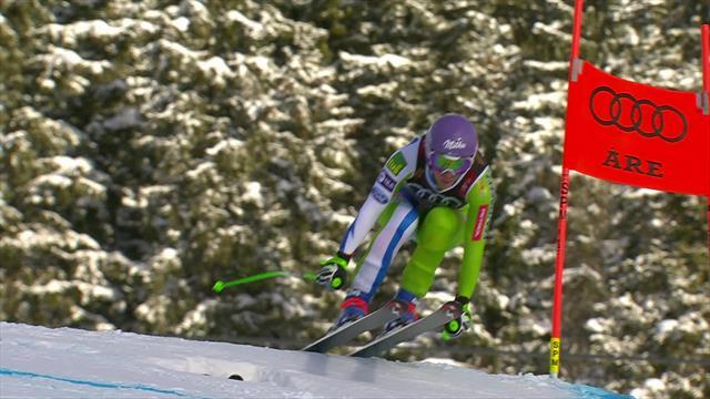 Mundiales Are 2019: Stuhec revalida el título en descenso por delante de Suter y Vonn