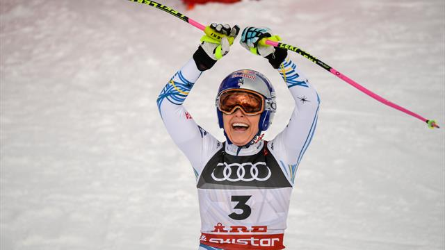 'Phenomenal performance' - Vonn shines in final race